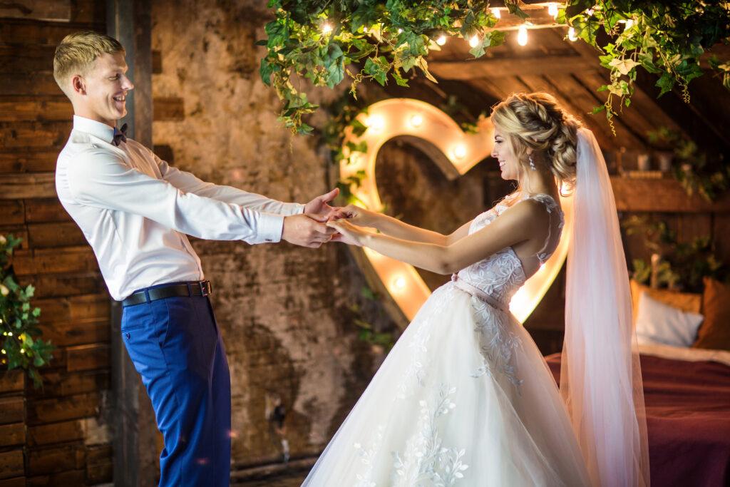 Eröffnungstanz Hochzeit Brautpaar